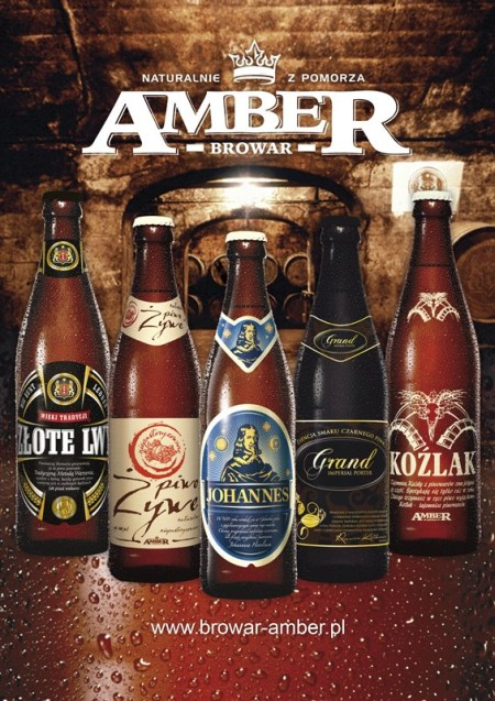W ofercie Browaru Amber warto zwrócić uwagę na Złote Lwy, Grand Imperial Portera i Koźlaka. Fot. Fanpage Browaru Amber