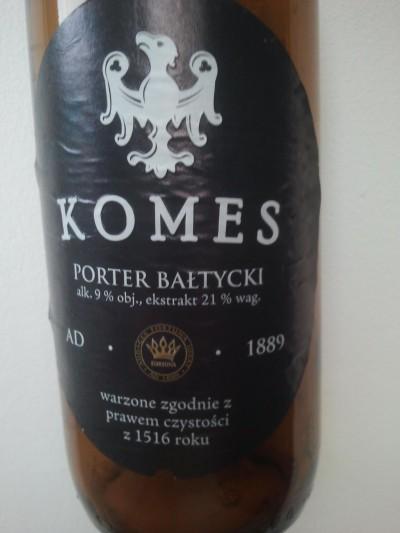 Komes Porter 2013