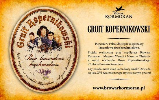 Kormoran Gruit Kopernikowski