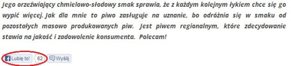 Browar Łebski - kupione lajki