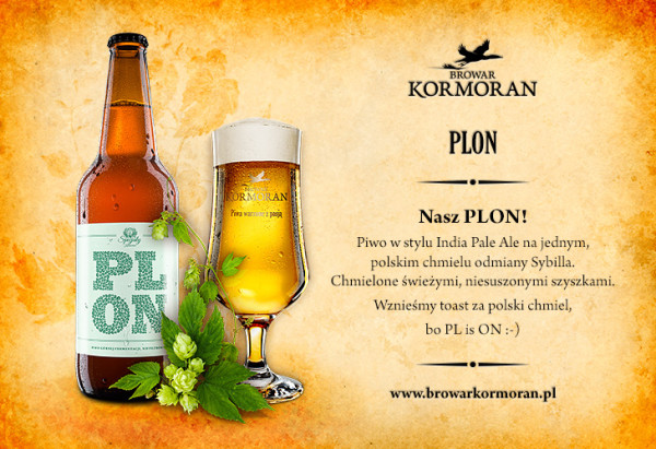 Kormoran PLON Zielony 2014