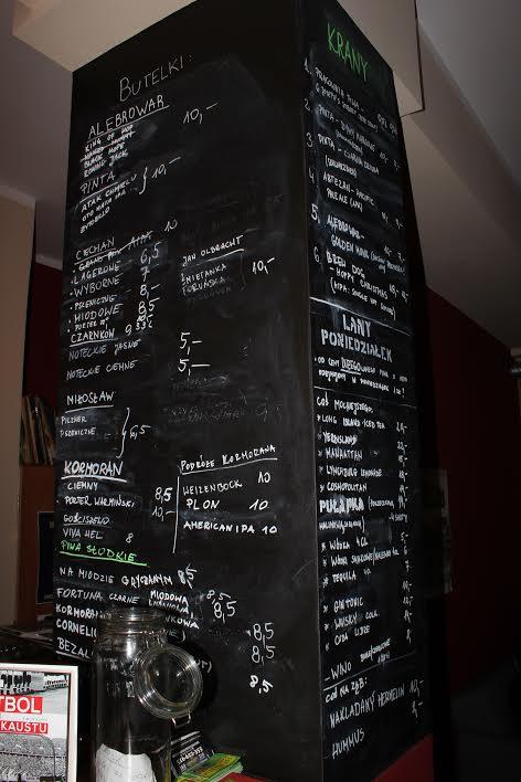 tablica-piwa-pułapka-pub-gdańsk