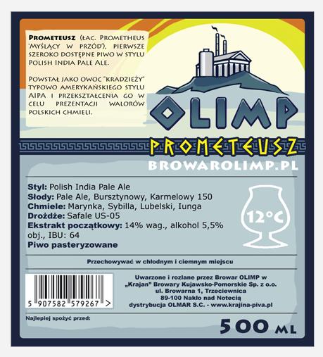 Browar Olimp - Prometeusz