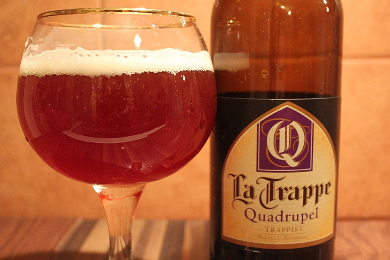 La Trappe Quadrupel Glass