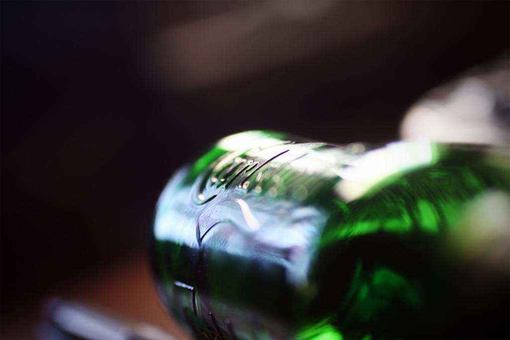 Carlsberg w zielonej butelce