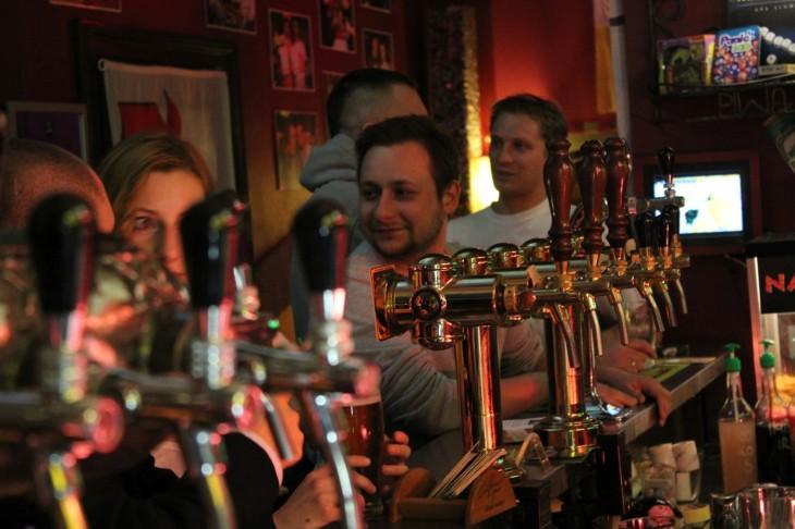 Degustatornia Gdańsk - krany z piwem