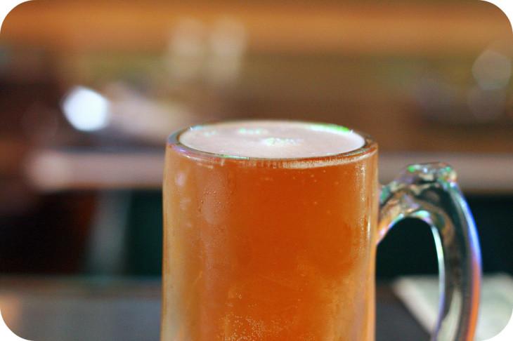 Zmrożone piwo