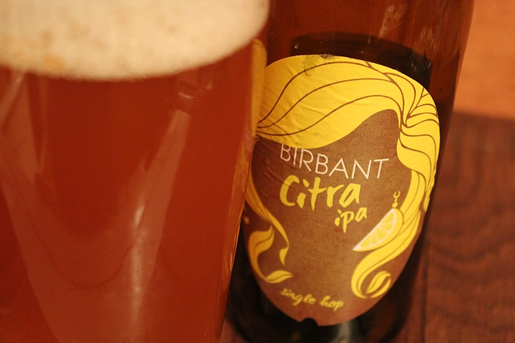 Birbant Citra Single Hop IPA
