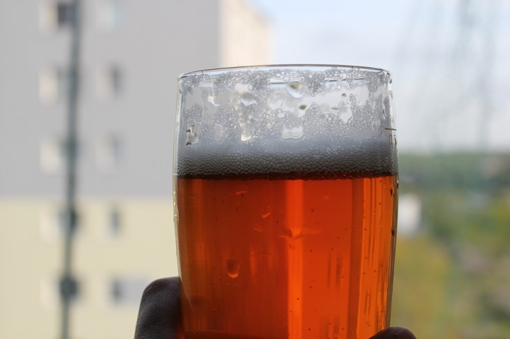 Port Brewing Wipeout IPA Color and Foam