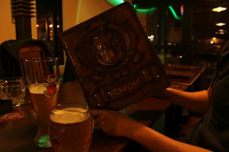 Karta w Browarze Lwów