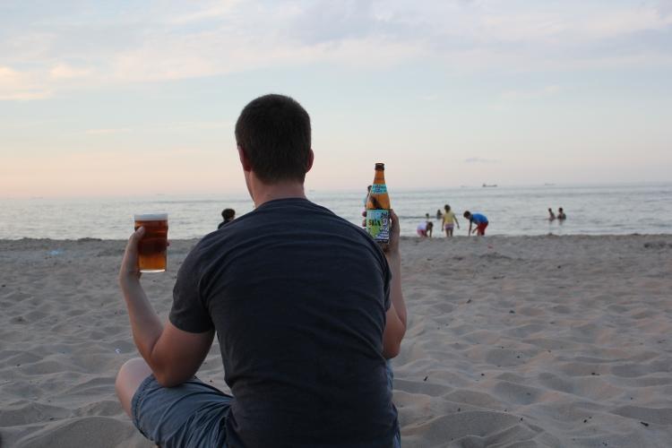 AleBrowar Hop Sasa na plaży