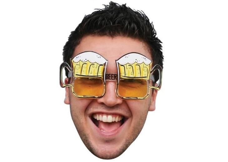 Piwne okulary