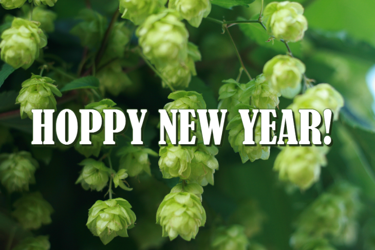 Hoppy new year