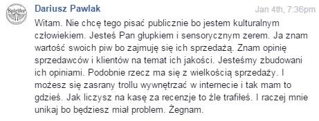 Dariusz Pawlak Spirifer The Beervault