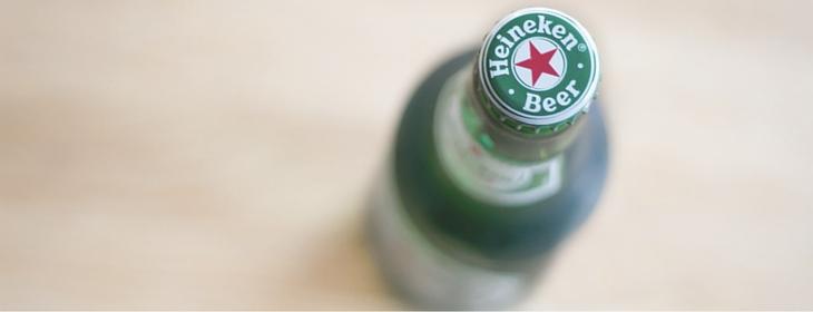 Heineken - zapach z butelki