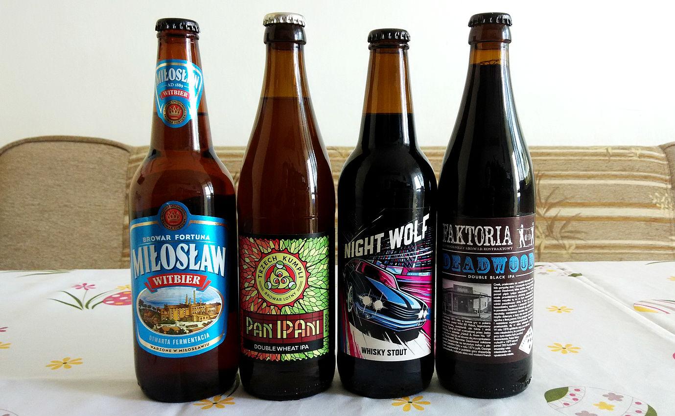 Przegląd piw kraftowych