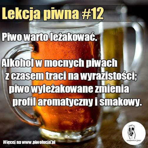 Leżakowanie piwa