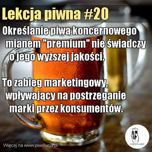 Piwo klasy premium
