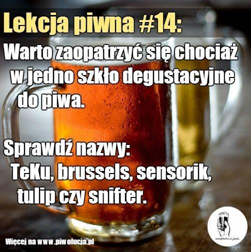 Szkło do piwa