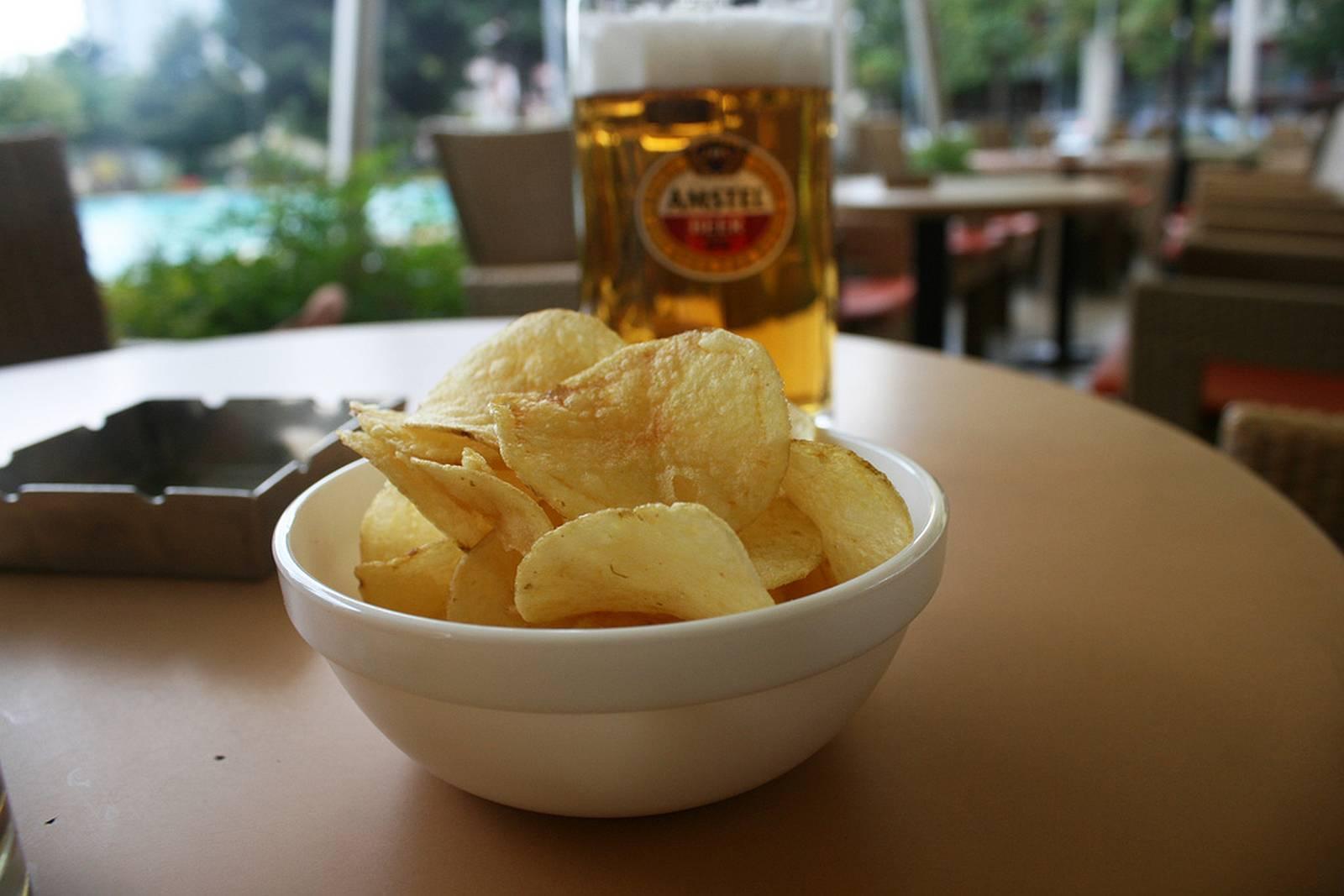 Piwo i czipsy