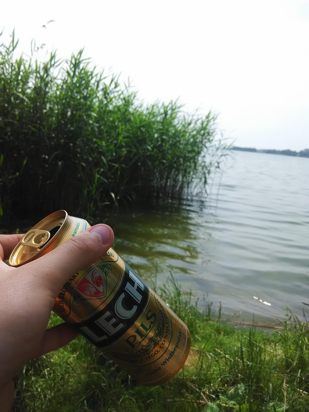 Lech Pils jezioro Annopole