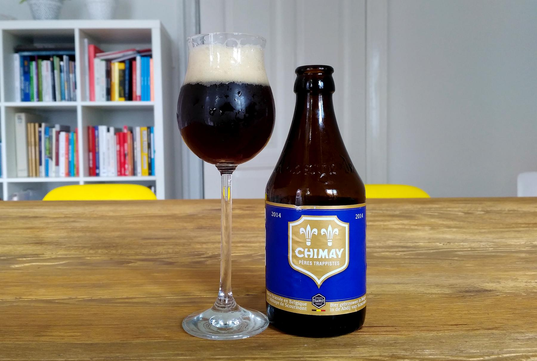Chimay Blue Belgian Strong Ale