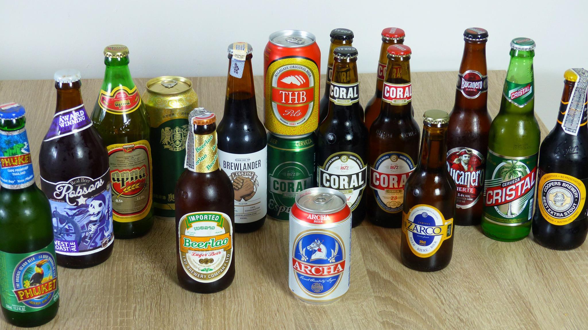 Piwa zagraniczne na Lekko Pod Wpływem