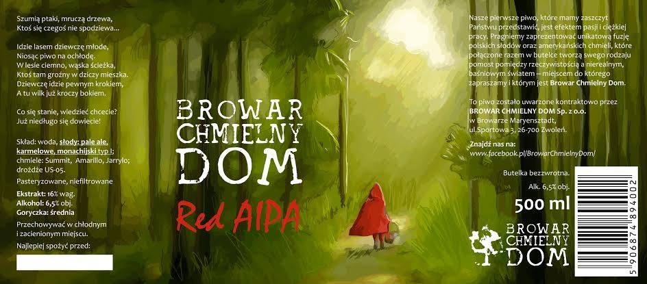 Browar Chmielny Dom Red AIPA