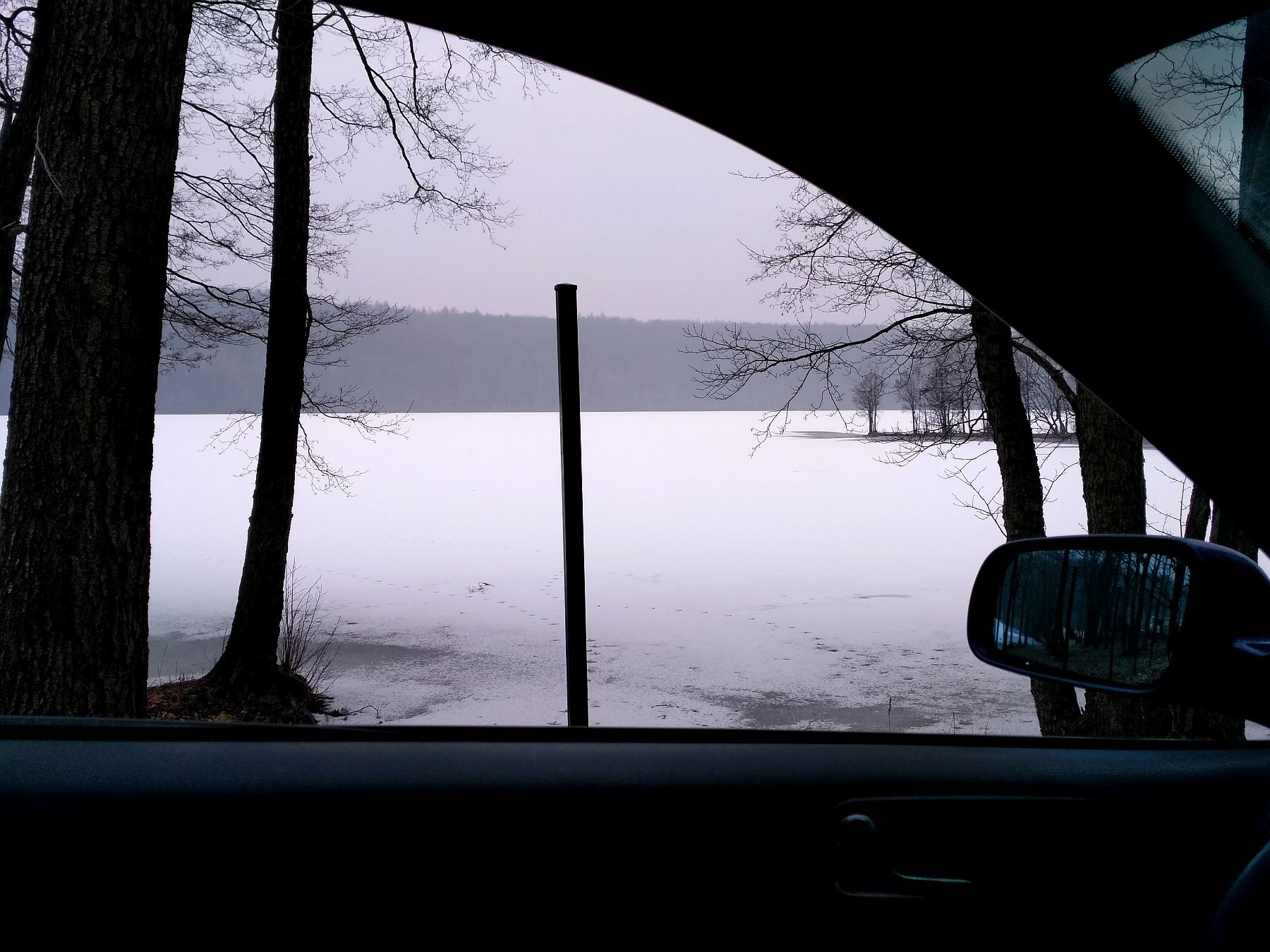 Jezioro Osuszyno marzec 2018