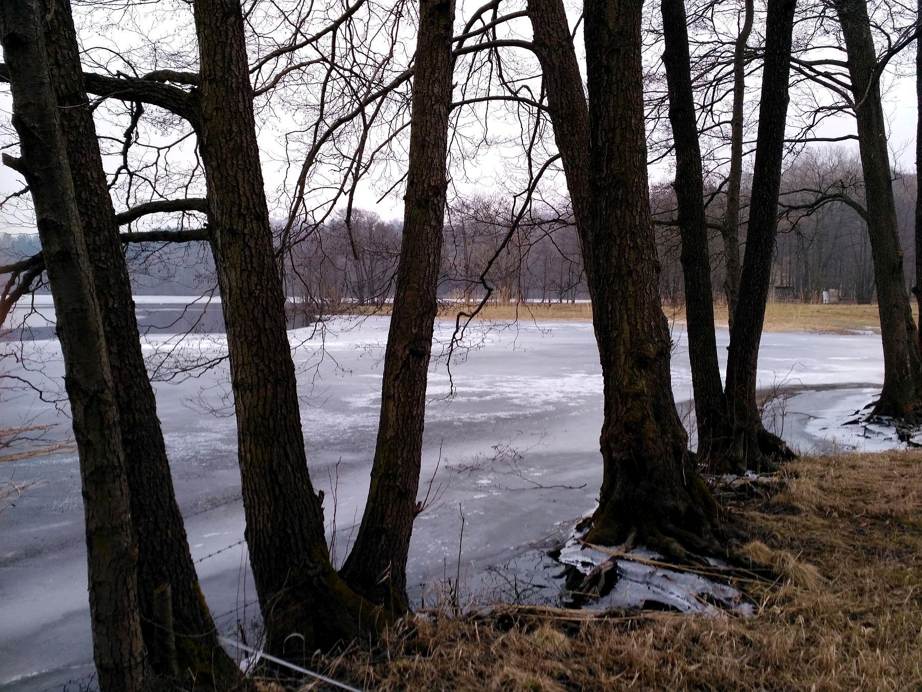 Jezioro Sianowskie marzec 2018