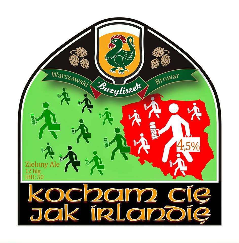 Bazyliszek Kocham Cię jak Irlandię