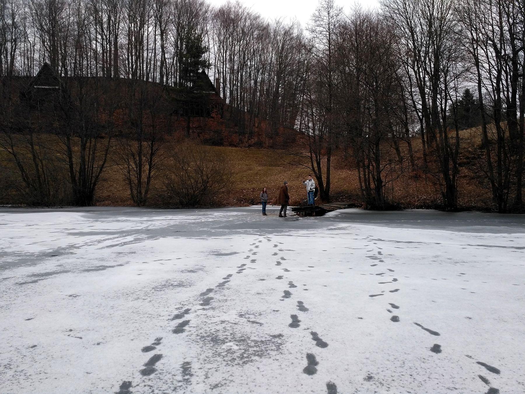 Zimowe Jezioro Osuszyno
