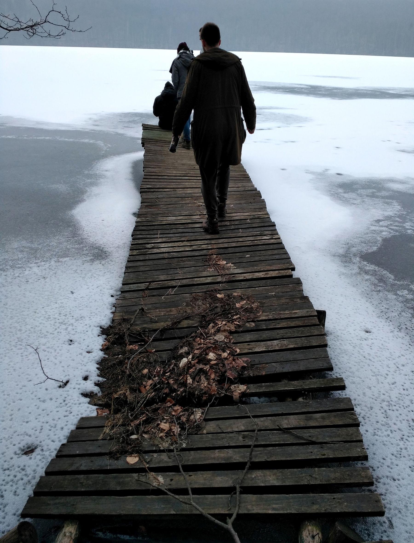 Pomost - Jezioro Osuszyno