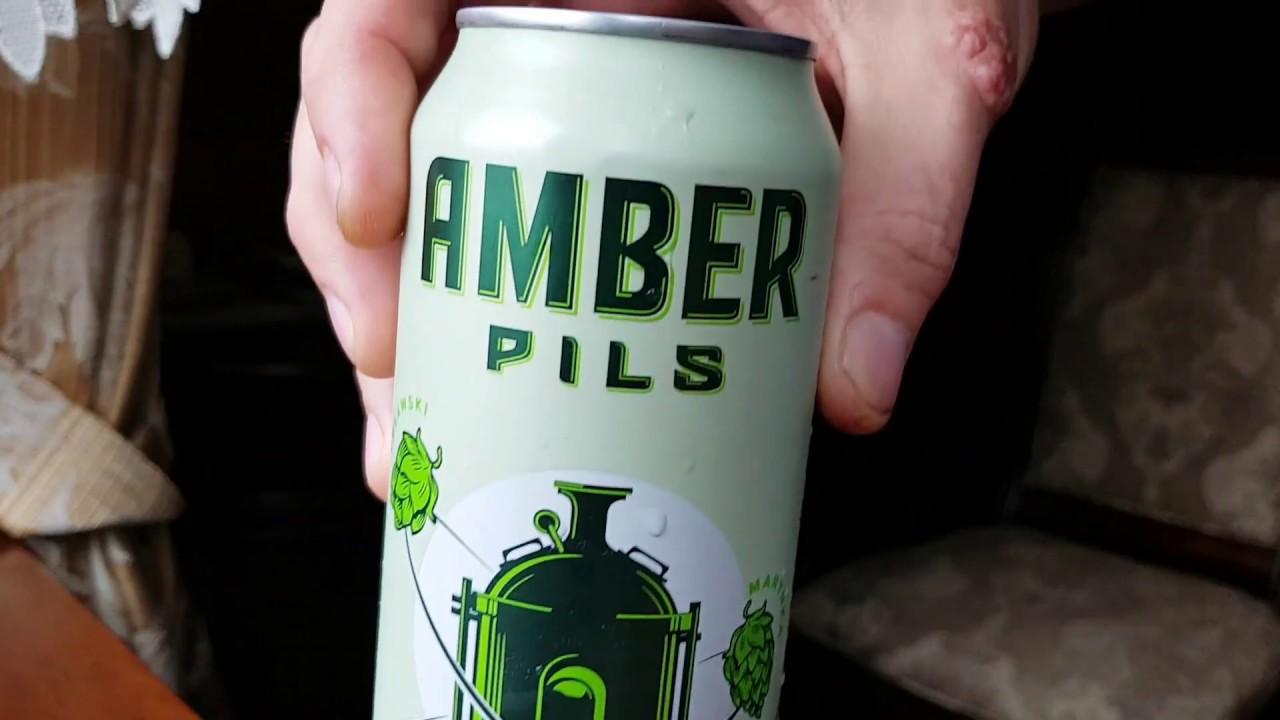 Amber Pils w puszce