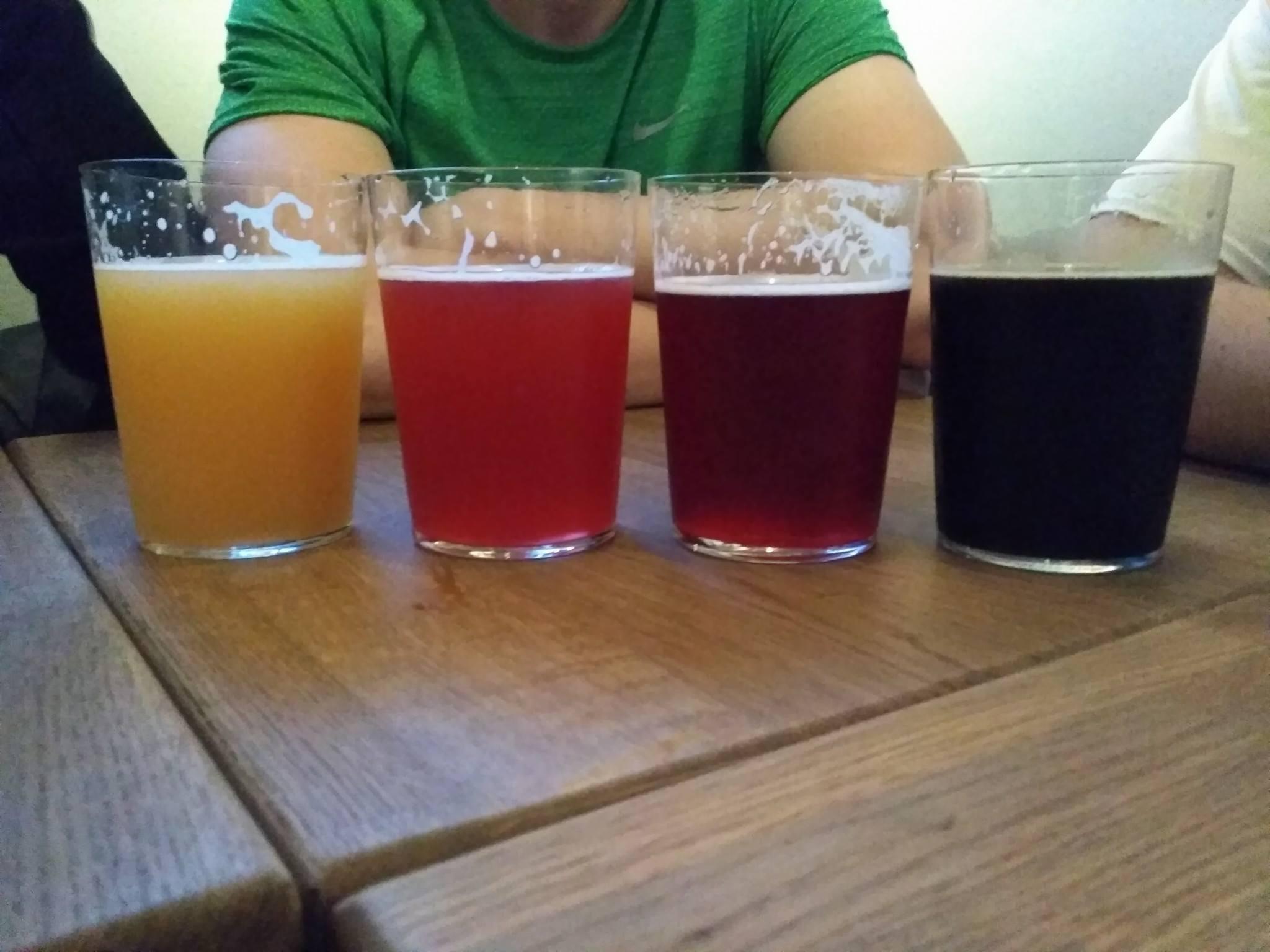Paleta kolorów piwa