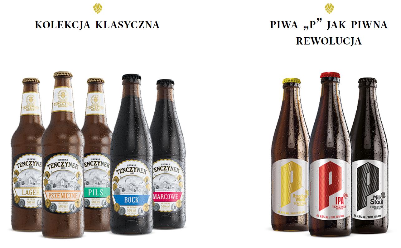 Piwa z Browaru Tenczynek