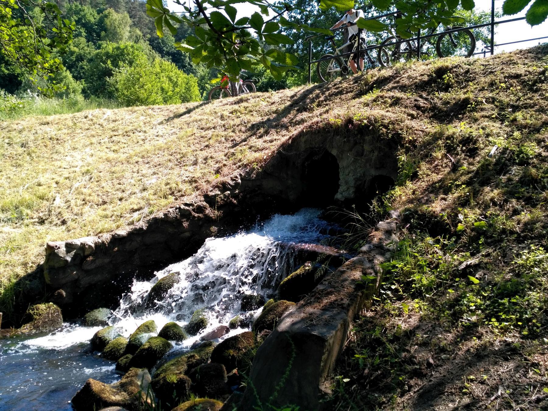 Potok Oliwski w Dolinie Radości