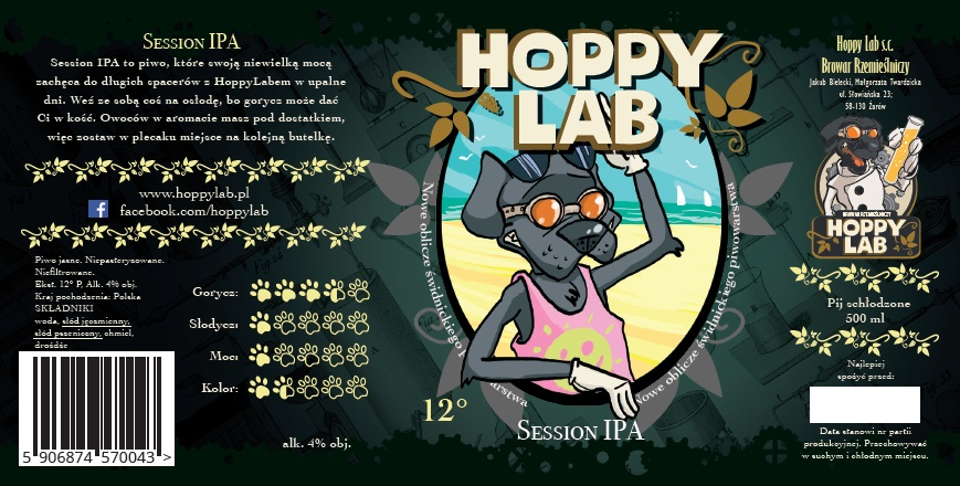 Hoppy Lab - Session IPA