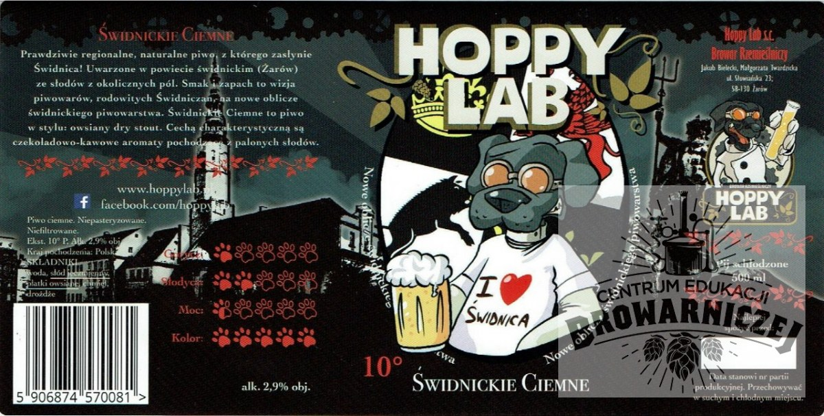 Hoppy Lab - Świdnickie Ciemne