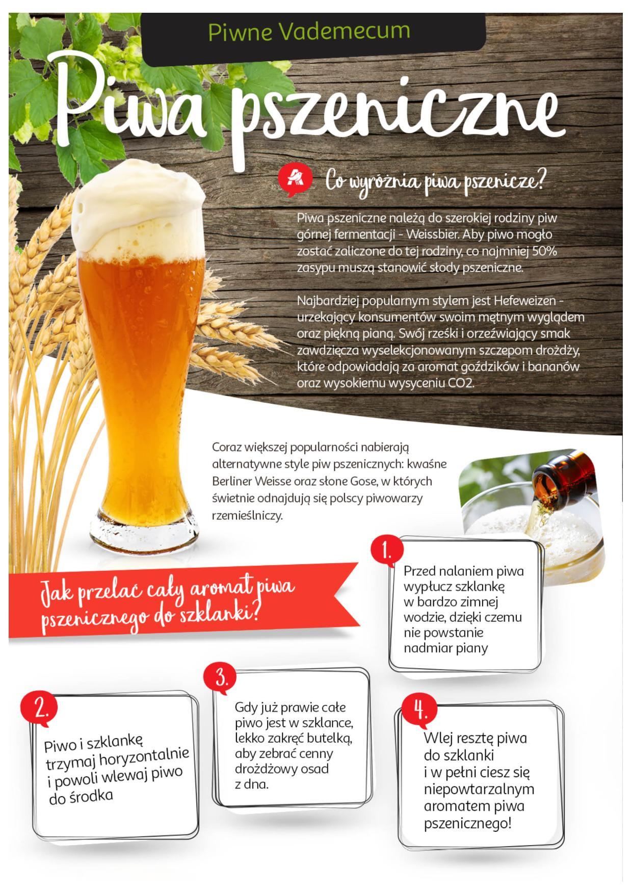 Jak nalewać piwo pszeniczne?
