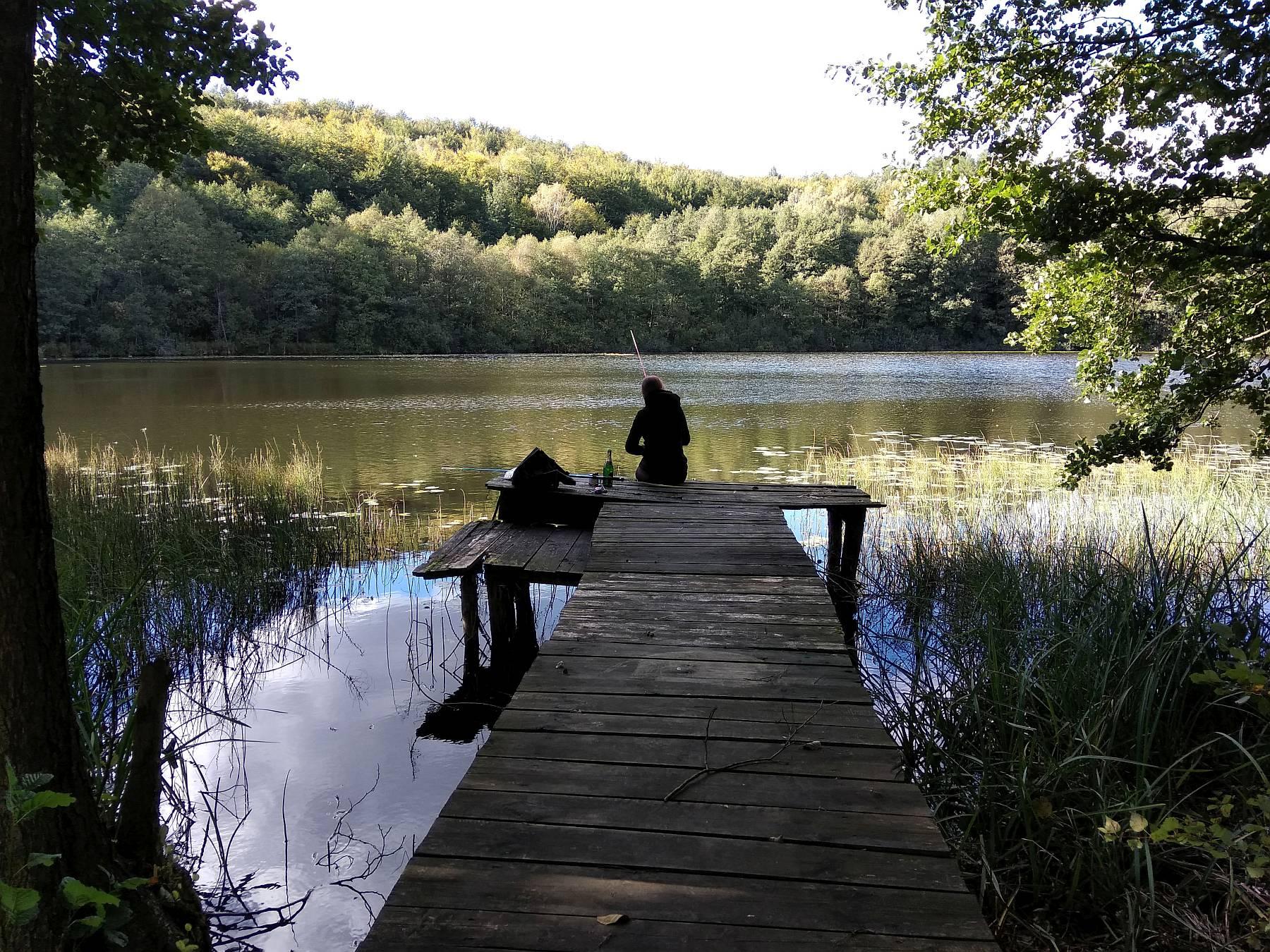 Pomost nad jeziorem Osuszyno