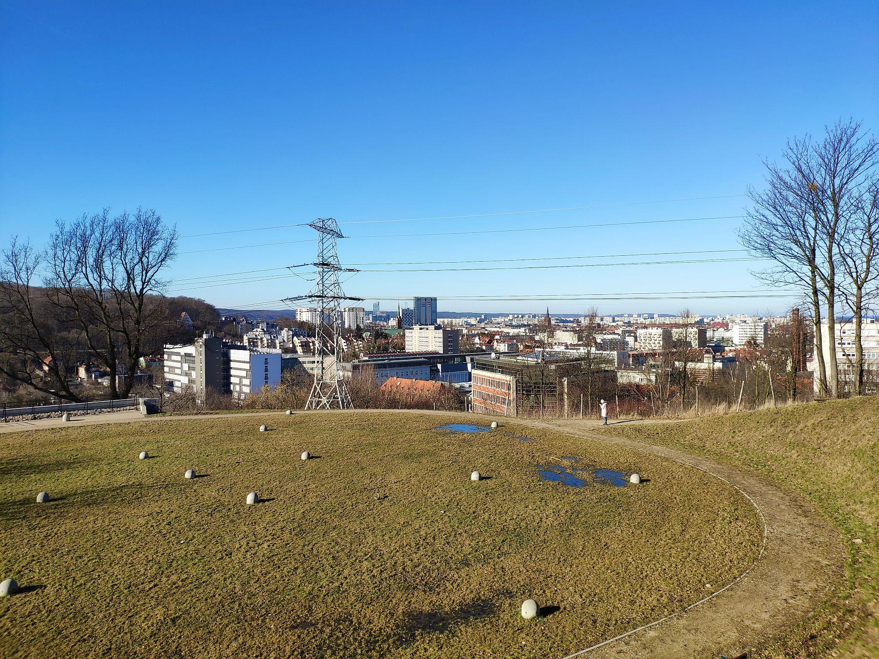 """Zbiornik wody """"Sobieski"""" - Szubieniczna Góra"""