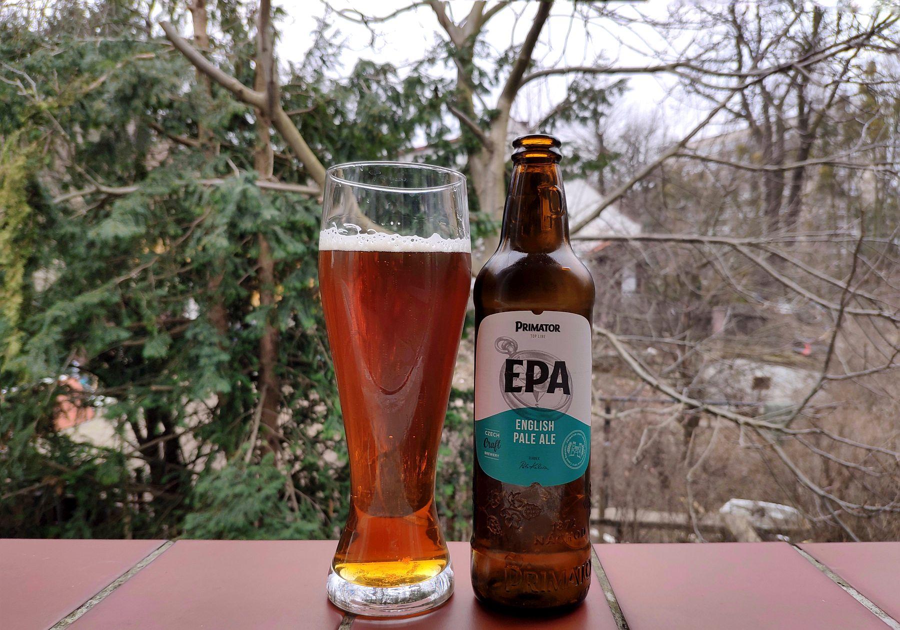 Primator EPA (English Pale Ale)