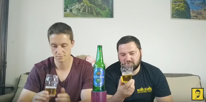 Heineken 0.0 na Lekko Pow Wpływem
