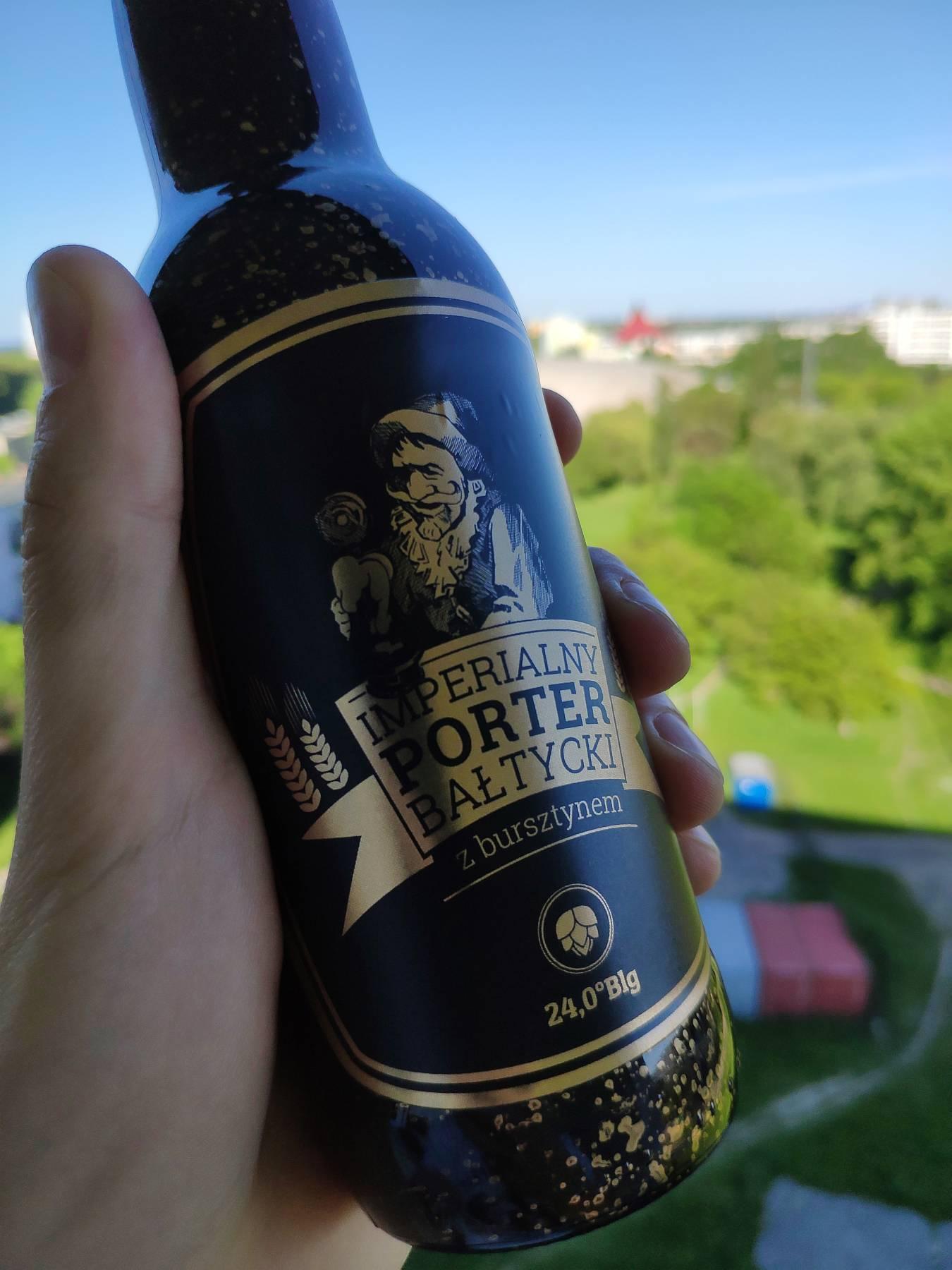 Imperialny porter bałtycki z bursztynem - Browar Prost