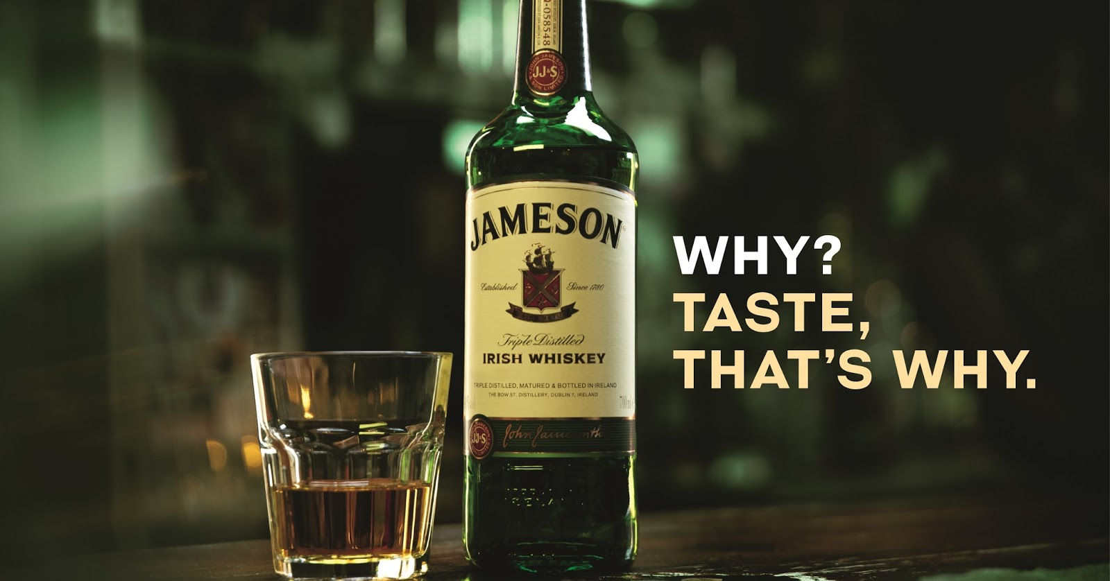 Jameson Whisky - slogan