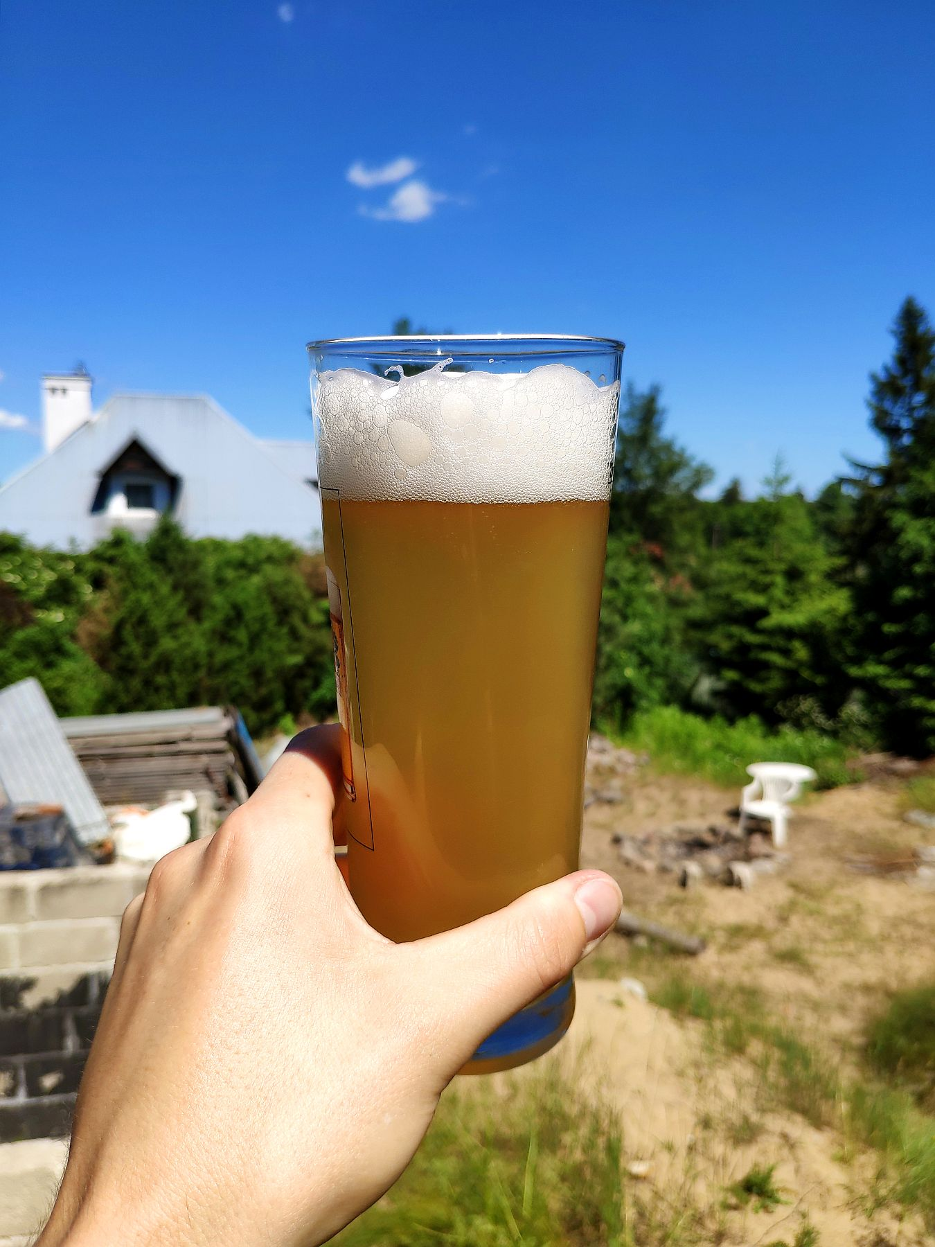 Piwo z Grodziska w szkle