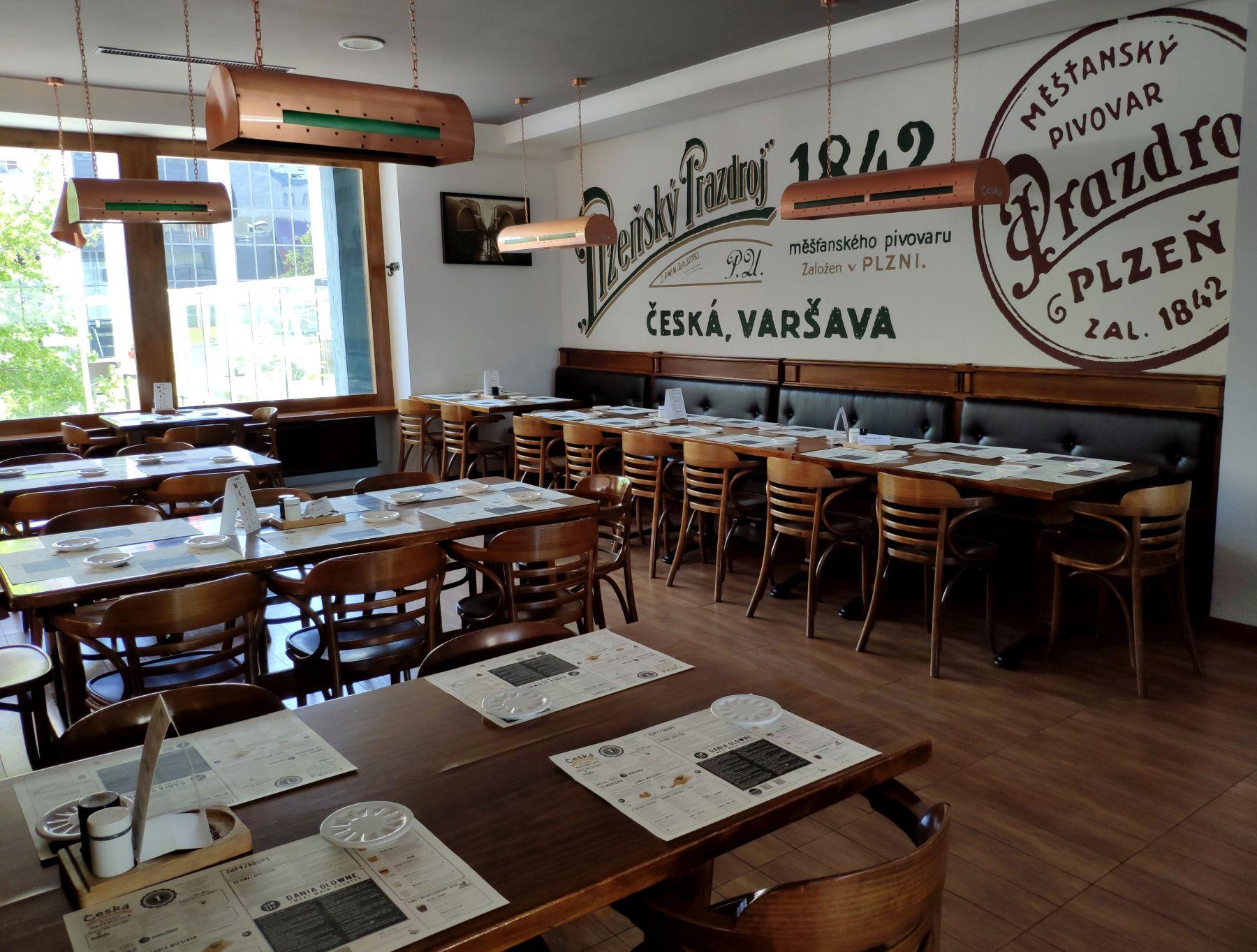 Česká Warszawa - piętro