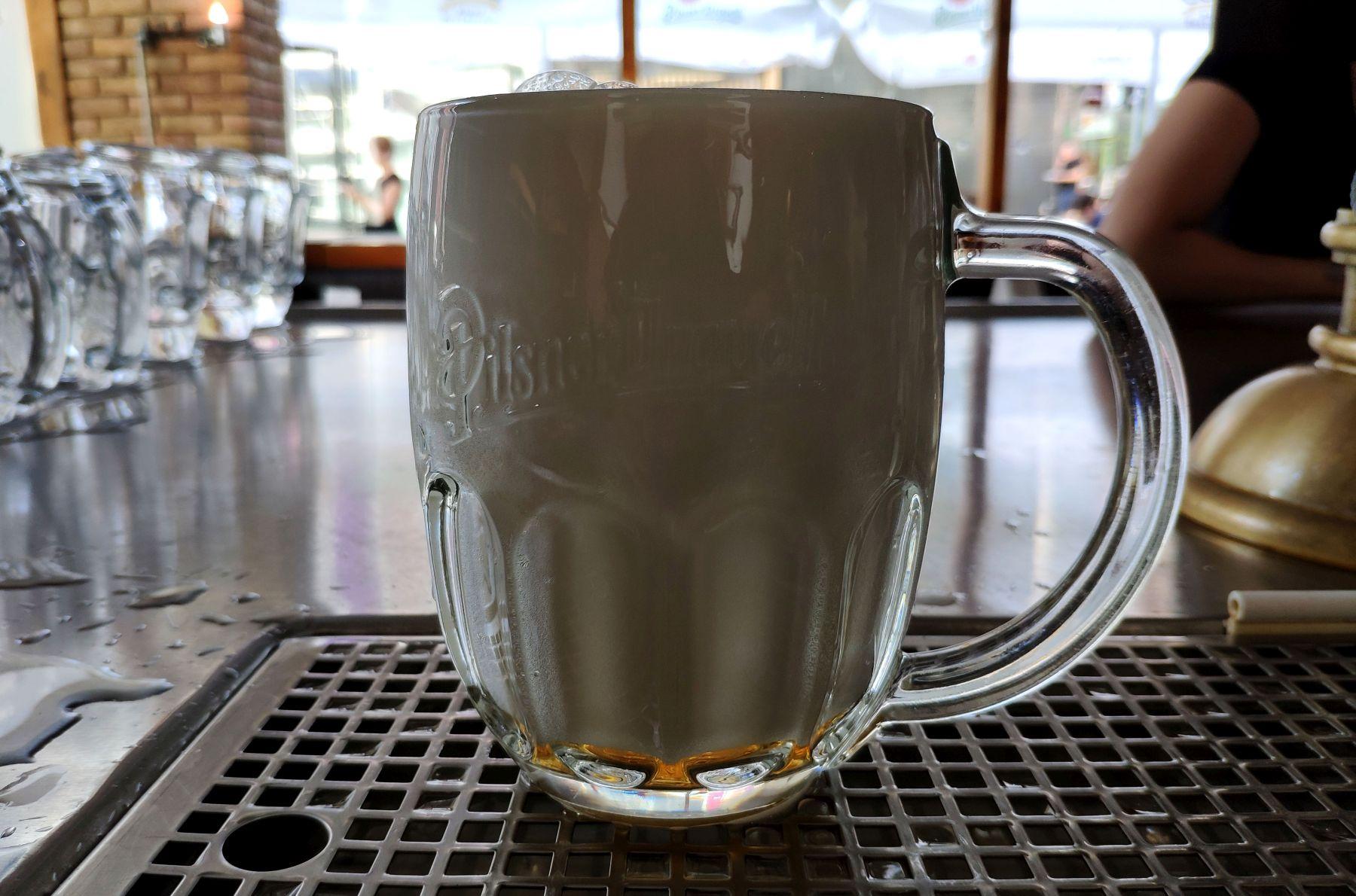 Pilsner Urquell - mliko